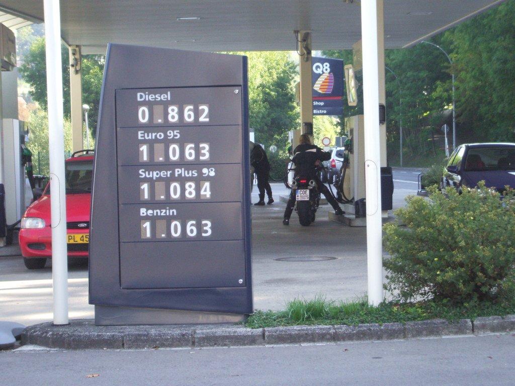 Spritkosten luxemburg