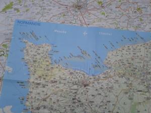 Normandie-Karten