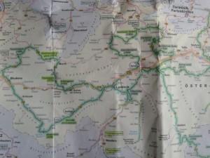 ADAC-Karte Tirol